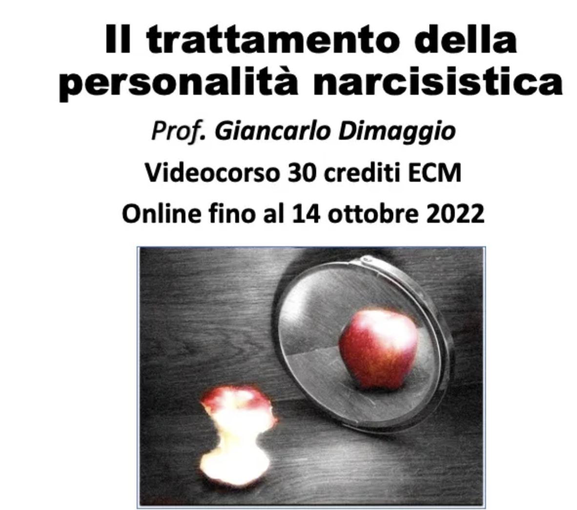 Il trattamento del Narcisismo patologico